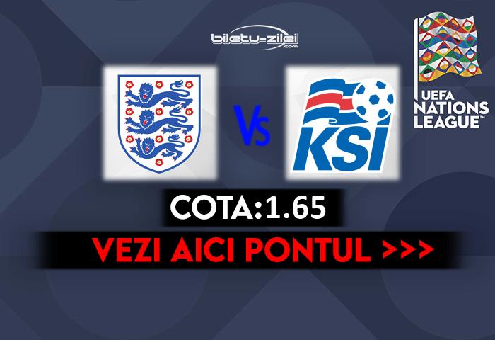 Anglia – Islanda ponturi pariuri 18.11.2020