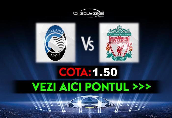 Atalanta – Liverpool ponturi pariuri 03.11.2020