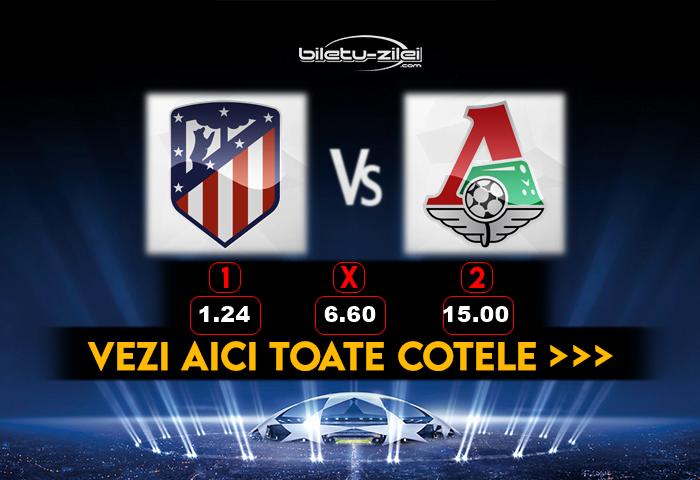 Atletico Madrid Lokomotiv Cote Pariuri 25112020