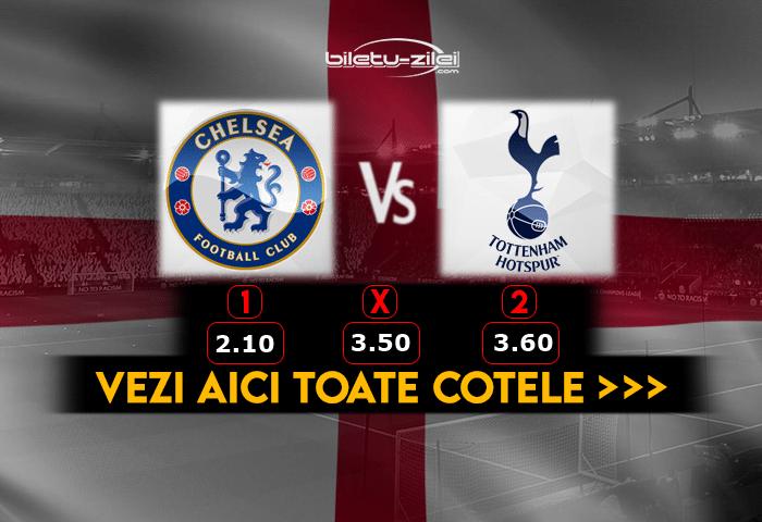 Chelsea Tottenham ponturi fotbal