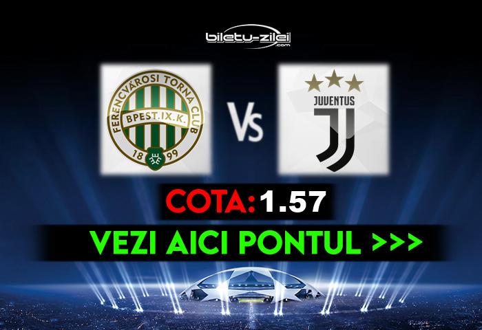 Ferencvaros – Juventus ponturi pariuri 04.11.2020