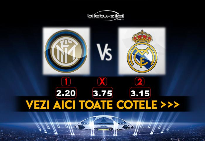 Inter Real Madrid Cote Pariuri 25112020