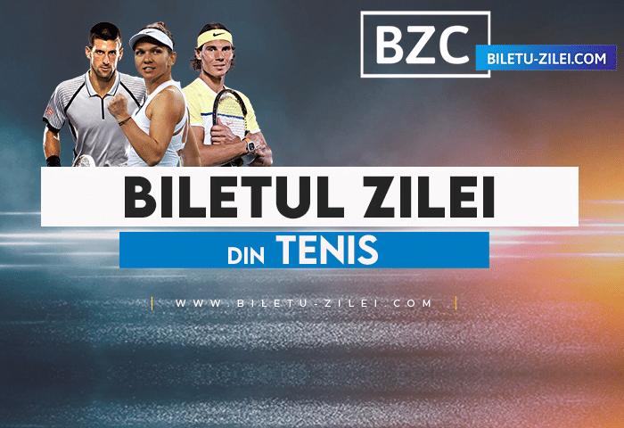 Biletul zilei tenis 28 septembrie 2021