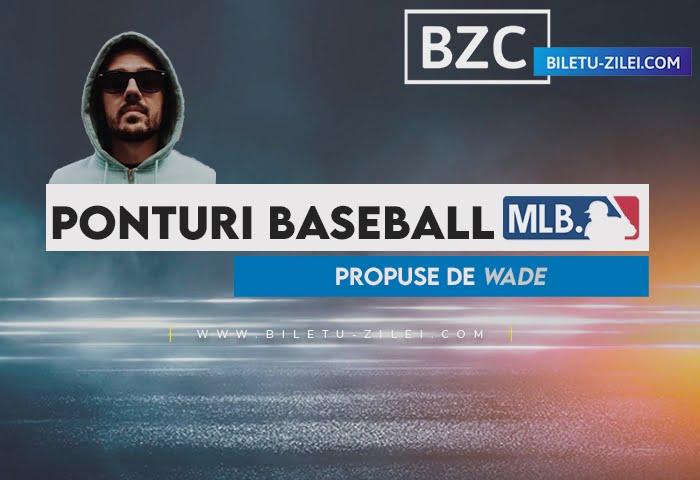 Ponturi baseball MLB 14.04.2021