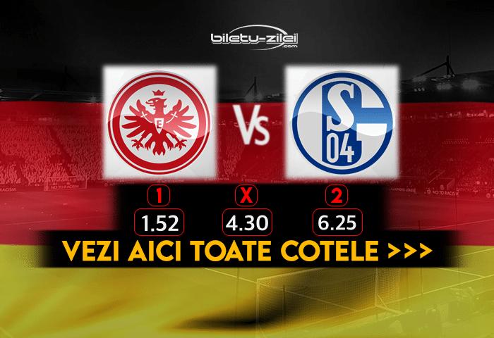 Frankfurt Schalke Cote Pariuri 17012021