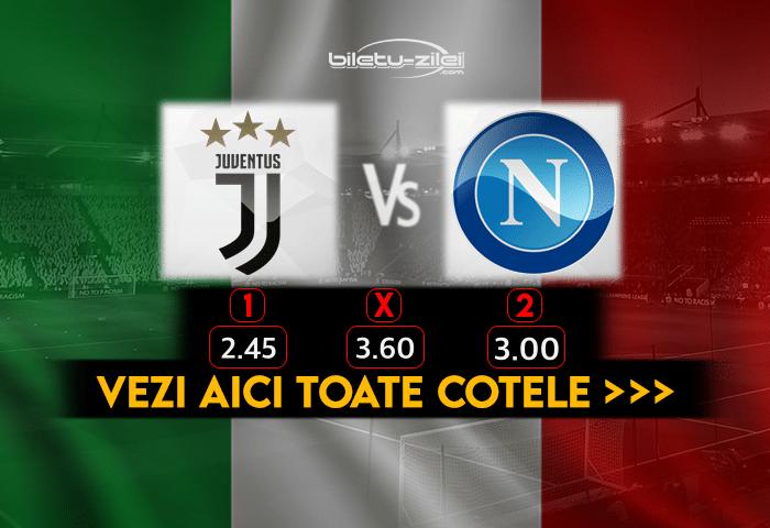 Juventus Napoli Cote Pariuri 20012021