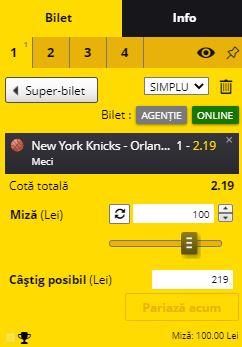 Knicks Bet Nba 19012021