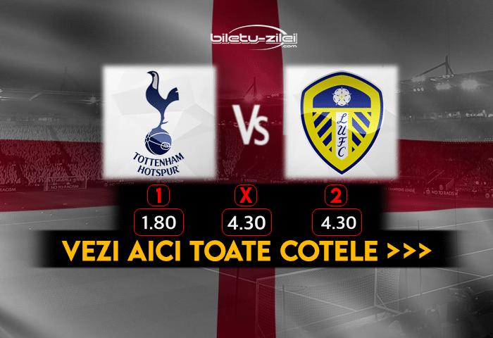 Tottenham Leeds Cote Pariuri 02012021