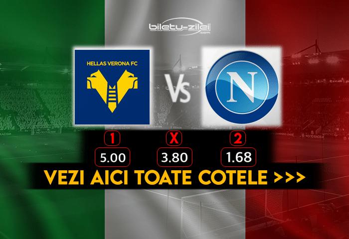 Verona Napoli Cote Pariuri 24012021