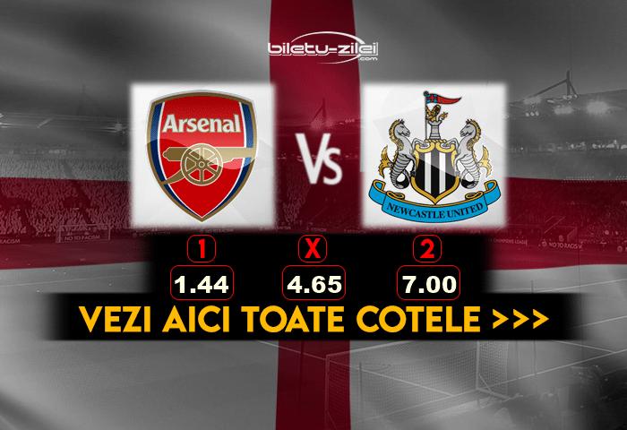 Arsenal Newcastle Cote Pariuri