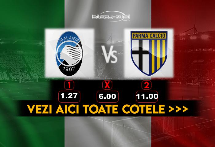 Atalanta Parma Cote Pariuri