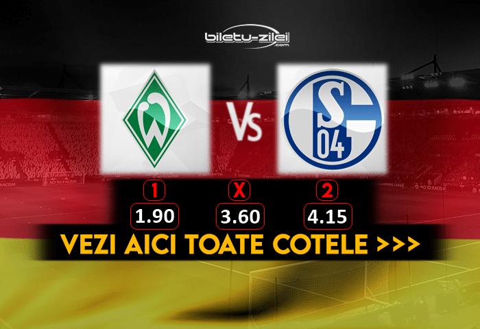 Bremen Schalke Cote Pariuri 30012021 1