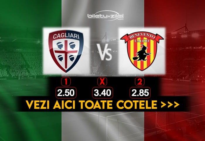 Cagliari Benevento Cote Pariuri 06012021