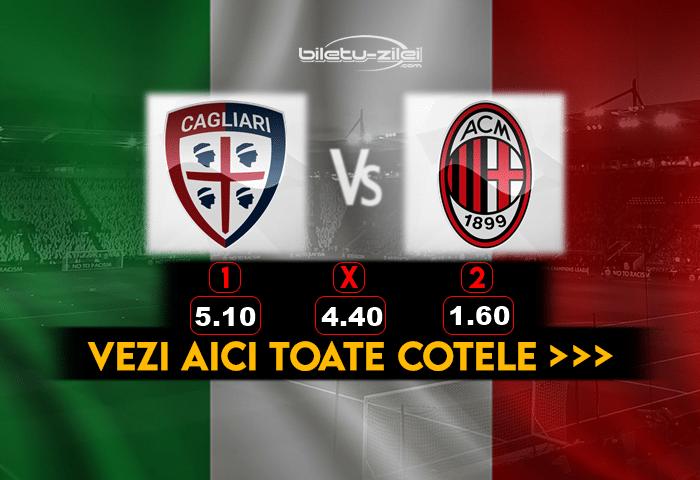 Cagliari Milan Cote Pariuri
