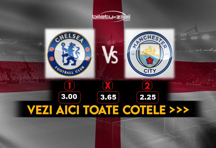 Chelsea Manchester City ponturi fotbal