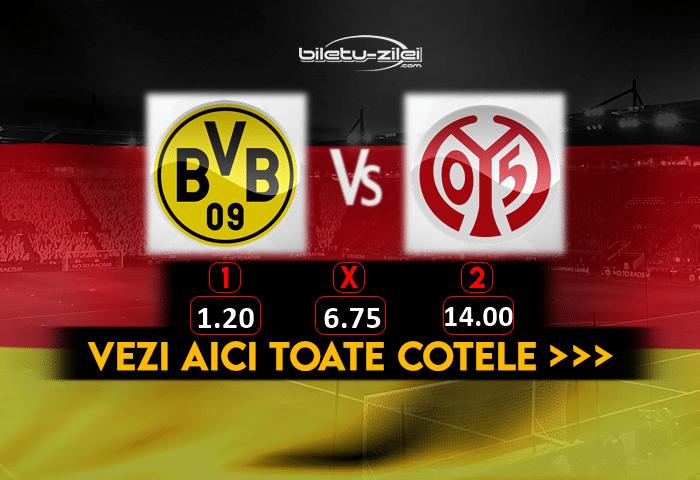 Dortmund Mainz Cote Pariuri 16012021 1