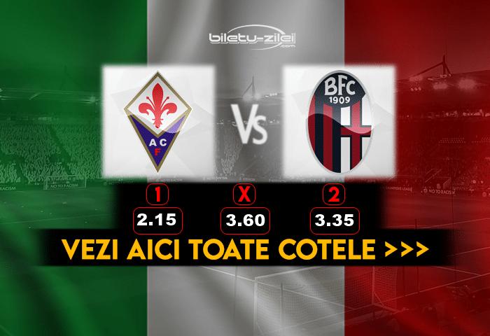 Fiorentina Bologna Cote Pariuri