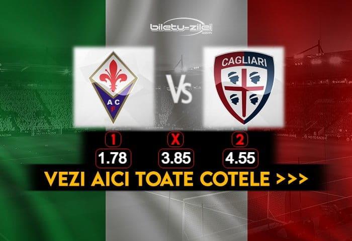 Fiorentina Cagliari Cote Pariuri 10012021