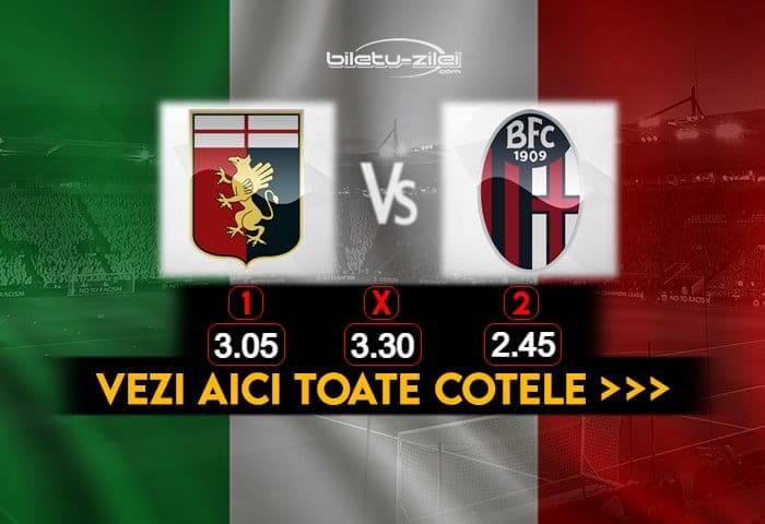 Genoa Bologna Cote Pariuri 09012021