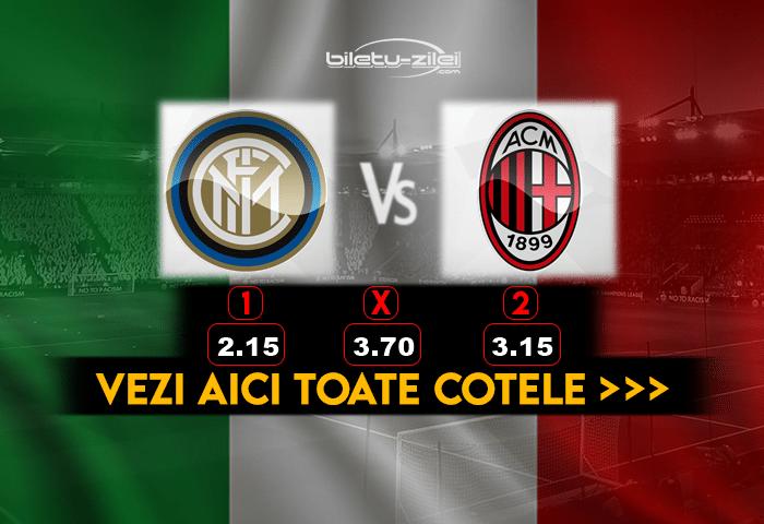 Inter Milan Cote Pariuri