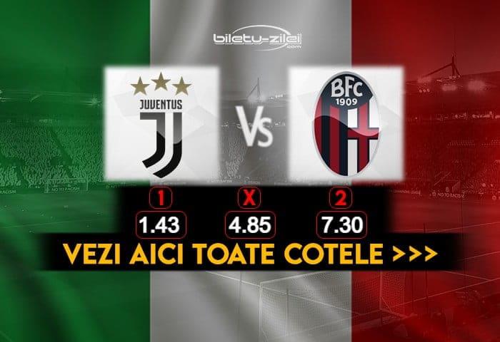 Juventus Bologna Cote Pariuri 24012021