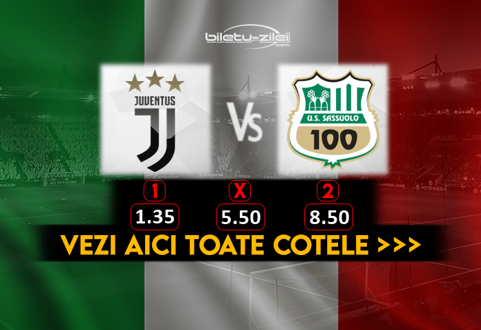 Juventus Sassuolo Cote Pariuri 10012021 1