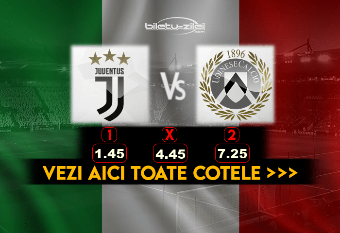 Juventus Udinese Cote Pariuri