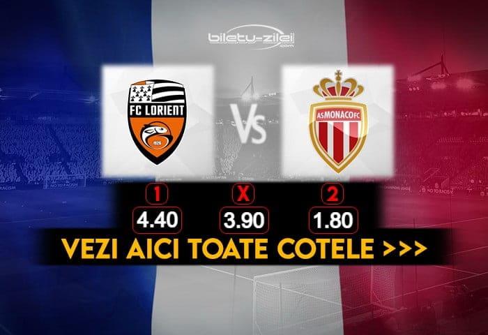 Lorient Monaco Cote Pariuri 06012021