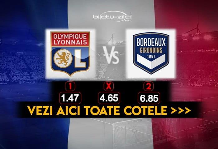Lyon Bordeaux Cote Pariuri 29012021
