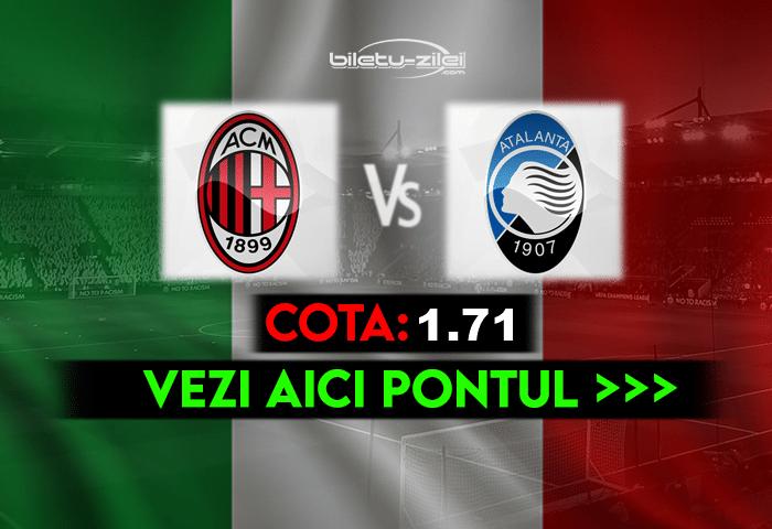 Milan Atalanta Ponturi Pariuri 1 1