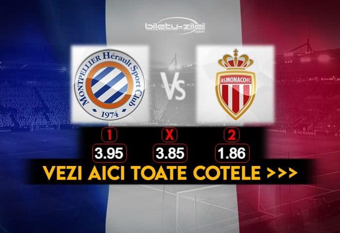 Montpellier Monaco Cote Pariuri 15012021