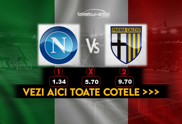 Napoli Parma ponturi fotbal