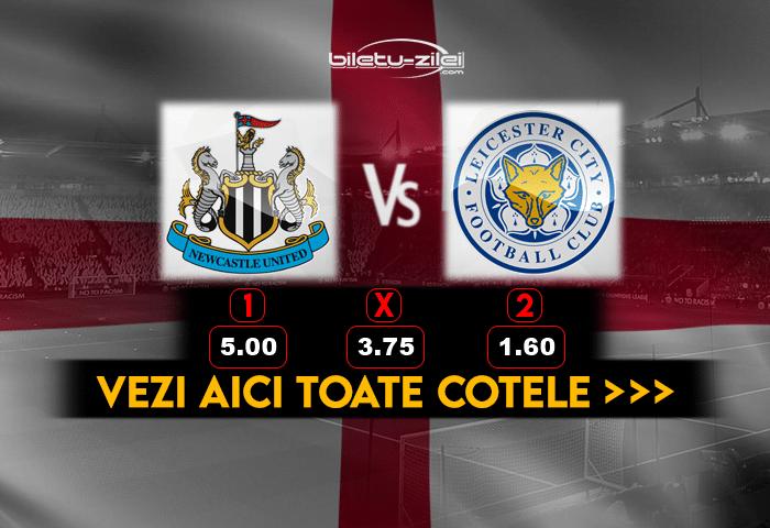 Newcastle Leicester ponturi pariuri
