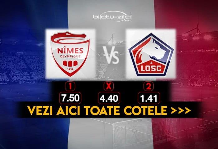 Nimes Lille Cote Pariuri 09012021