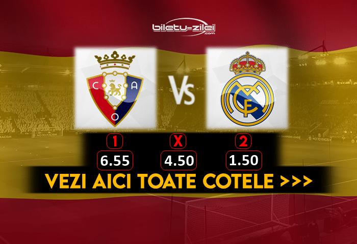 Osasuna Real Madrid Cote Pariuri 09012021 1
