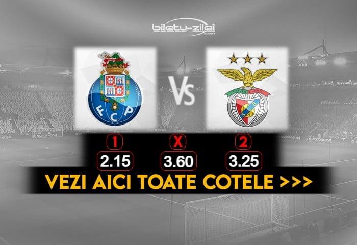 Porto Benfica Cote Pariuri 15012021