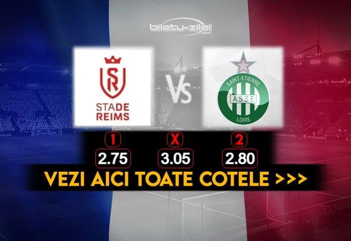 Reims St Etienne Cote Pariuri 09012021