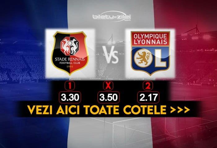 Rennes Lyon Cote Pariuri 09012021