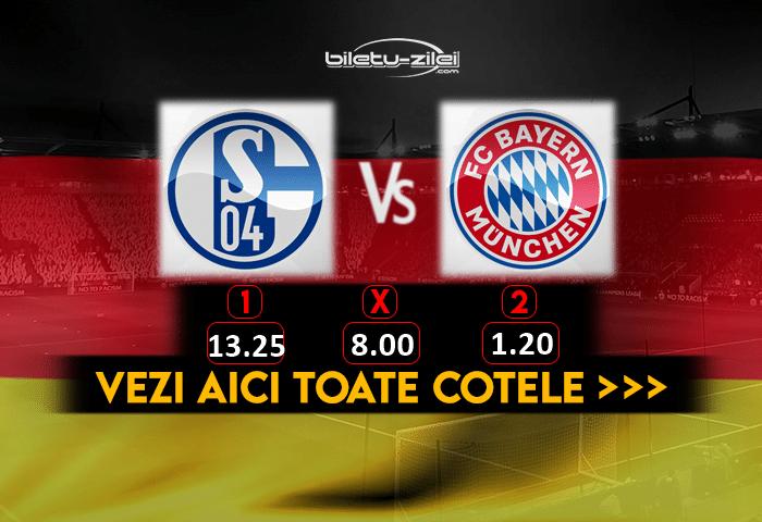 Schalke Bayern Cote Pariuri 24012021