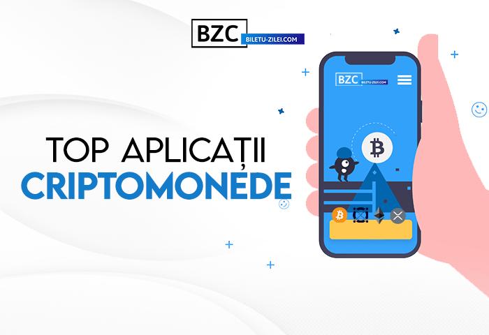 Top aplicații criptomonede