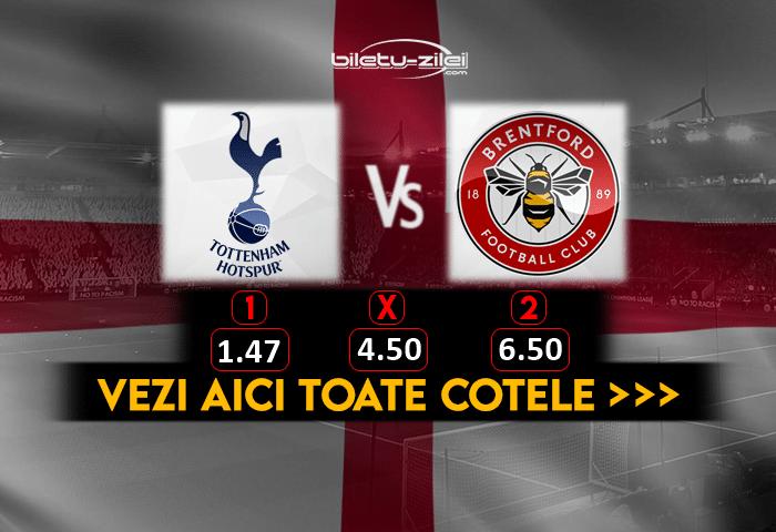 Tottenham Brentford Cote Pariuri 05012021