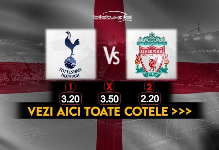 Tottenham Liverpool Cote Pariuri 28012021