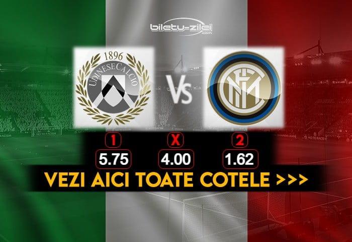 Udinese Inter Cote Pariuri 23012021