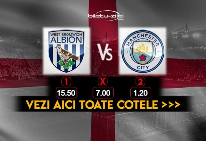 West Brom Manchester City Cote Pariuri 26012021