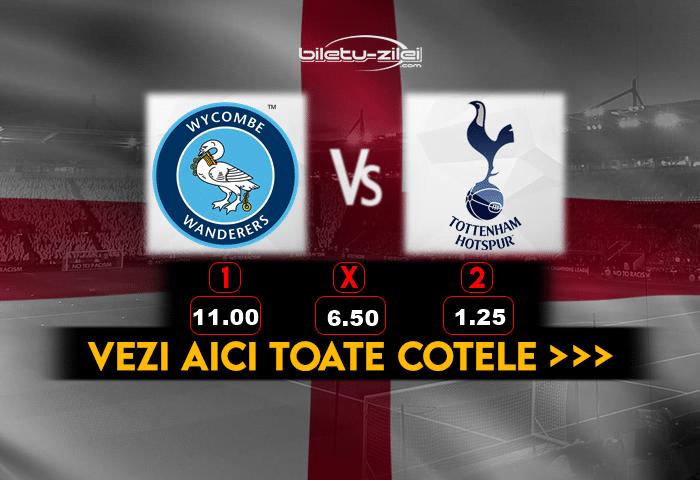 Wycombe Tottenham Cote Pariuri 25012021