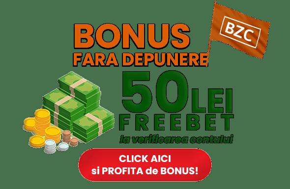 50 Lei Freebet
