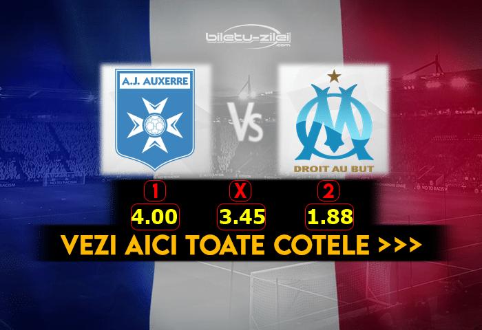 Auxerre Marseille Cote Pariuri 10022021