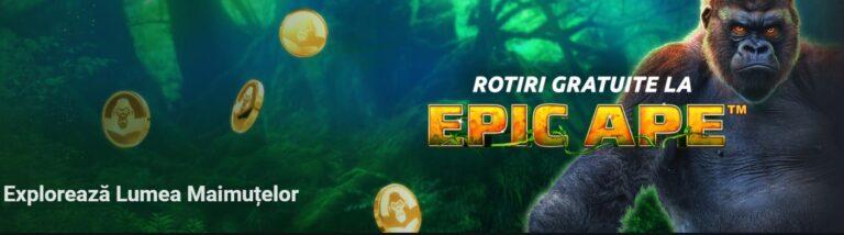 Explorează lumea maimuțelor azi la Betano Casino