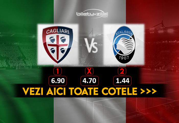 Cagliari Atalanta Cote Pariuri