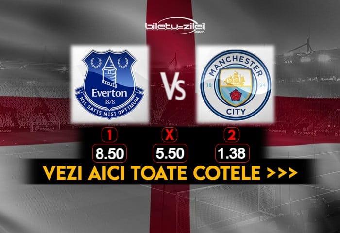 Everton Manchester City Cote Pariuri 17022021
